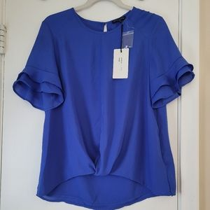 New with Tags Shinestar Ruffle Blouse